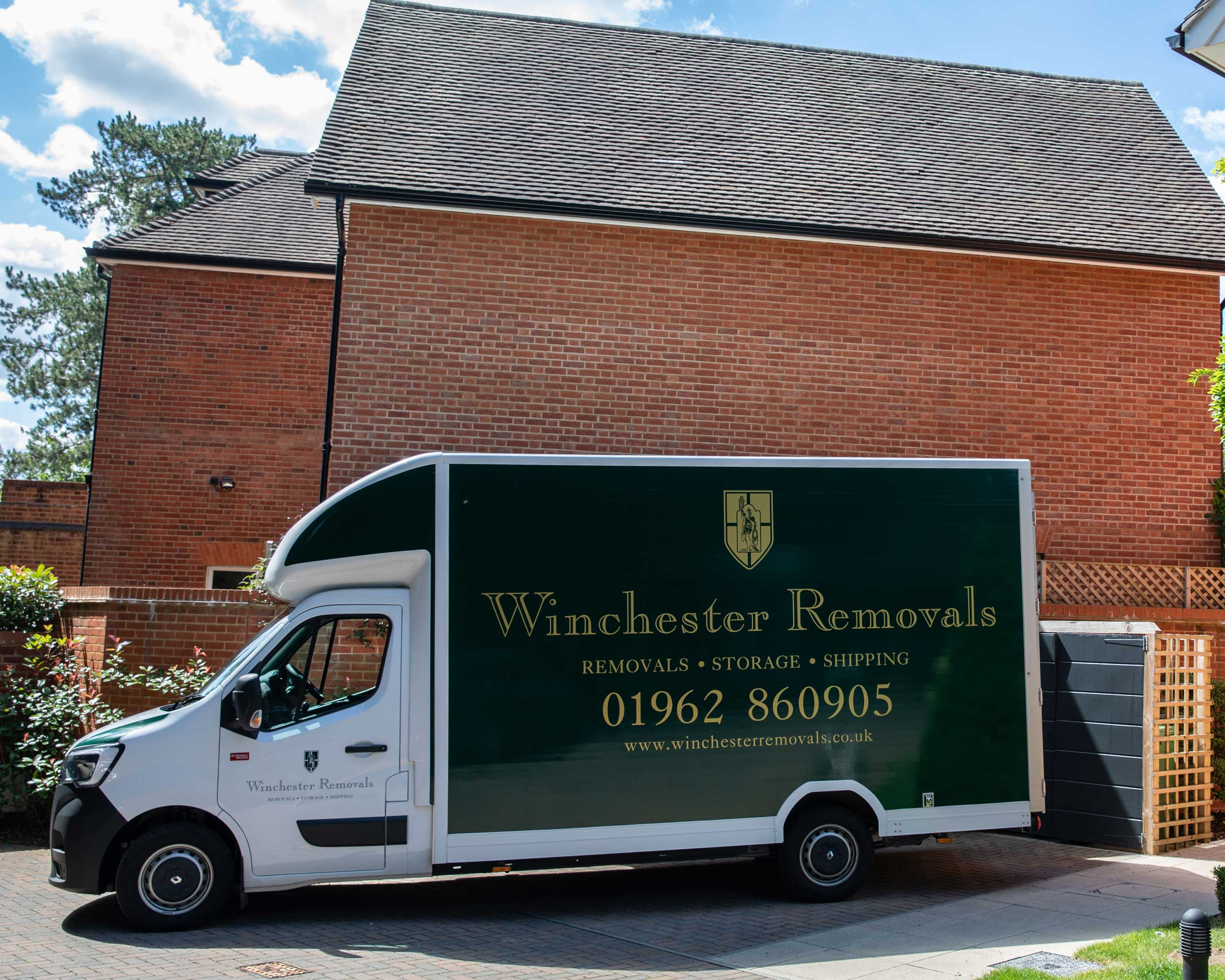 Winchester Removals puts its new vehicle to work!